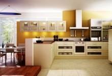 Những mẫu tủ bếp đẹp nhất 2017 với sự kết hợp màu sắc tươi s