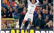 Người hâm mộ có dịp xem Ronaldo trổ tài khi gặp Messi