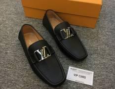 Giày Louis Vuitton Taurillon khóa bóng thời trang siêu cấp