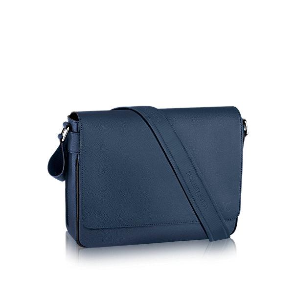 Túi đeo vai Louis Vuitton Roman MM da Taiga TXN180