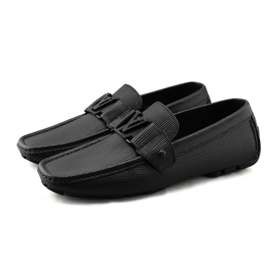 Giày LV epi đen siêu cấp GN57