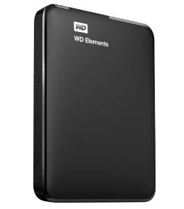 500GB WESTERN DIGITAL 2.5 inch USB 3.0 Elements (WDBUZG5000ABK)
