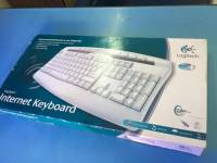 KEYBOARD INTERNET LOGITECH MULTIMEDIA PS2