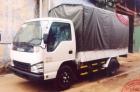 Xe tải nhẹ 1,05 tấn QKR55F thùng mui phủ bạt