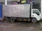 Xe tải 1,9 tấn Isuzu QKR55H thùng kín inox