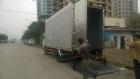 Xe ô tô tải 5 tấn Isuzu NQR75L thùng kín