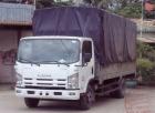 Xe tải 4,9 tấn Isuzu NQR75L thùng mui phủ bạt
