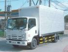 Xe ô tô tải 5 tấn Isuzu NQR75L thùng kín  inox