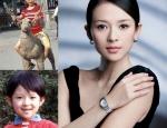 Những ngôi sao Hoa ngữ tự tin khoe ảnh xinh đẹp từ tấm bé