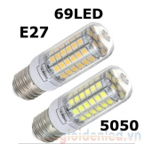 Đèn LED bắp ngô SMD 5050 15W có chóa