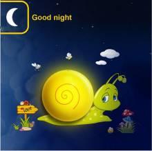 Đèn ngủ decal Chú ốc sên