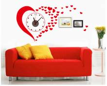 Đồng hồ decal Trái tim