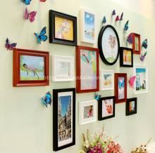 Bộ 15 khung ảnh kèm bướm 3D KA091