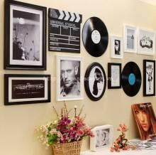 Bộ 09 khung ảnh cao cấp kèm đĩa nhạc và đạo cụ quay phim