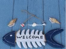 Bảng Welcome hình xương cá