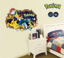 Decal dán tường Pokemon Go