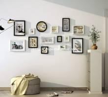 Bộ 14 khung ảnh gỗ cao cấp