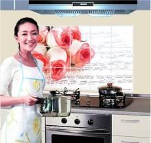 Giấy dán bếp Hoa hồng số 5