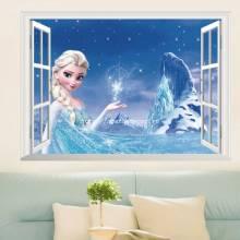 Decal Cửa sổ Công chúa Frozen