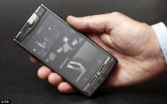 Vertu Signature Touch Polished Titanium Black
