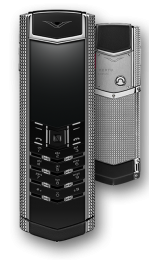 Vertu Độ Vỏ Signature S Clous de Paris Stainless Steel Black