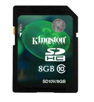 Kingston SDHC 8GB SD10V (Class 10)