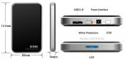 HDD Box - Hộp đựng ổ cứng laptop 2.5 T300 (USB 3.0)