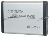 BOX HDD ENCLOSURE 5.25'' USB 2.0