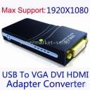 Bộ chuyển đổi USB to UGA ( VGA, HDMI, DVI )