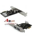 Card PCI-Express to USB 3.0 - 2Port