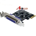 Card PCI-Express to Paralell 25pins - 1Port