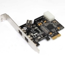 Card PCI-Express to 1394b - 2Port