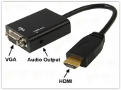 HDMI To VGA with audio