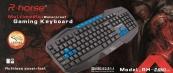 Bộ bàn phím chuột chơi game R-horse RH8600