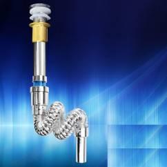 Bộ xi phông ống xả mềm Zento NX018
