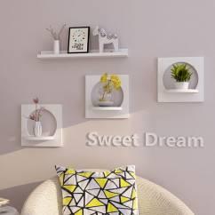 Bộ 3 kệ treo tường bán nguyệt Sweet Dream NX006