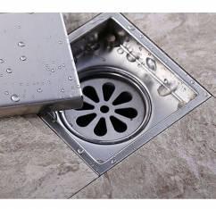 Phễu thoát sàn chống mùi hôi và côn trùng 15cm NX554