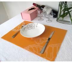 Bộ 4 tấm lót bàn ăn butterfly NX106