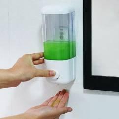 Hộp đựng nước rửa tay đơn loại tốt NX204