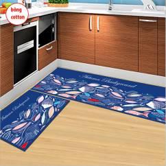 Thảm trải sàn nhà bếp cao cấp sét 2 cái NX889