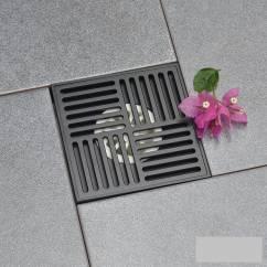 Phễu thoát sàn chống mùi Black series NX672-1B
