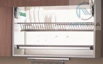 Giá treo úp bát đĩa NewEra 2 tầng bằng inox giá rẻ