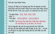 Thư mời tham quan Hội chợ Vietbuild Hà Nội từ 19 -23 tháng 11 năm 2014