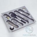 Khay chia thìa dĩa NewEra dùng cho khoang tủ rộng từ 600mm