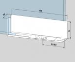 Kẹp kính bản lề sàn Dorma PT10