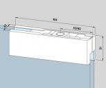 Kẹp kính bản lề sàn Dorma PT20