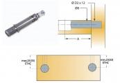 Chốt nối Titus 05503 dài 24mm lắp nhanh