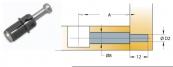 Chốt nối Titus 05570 dài 24mm lắp nhanh
