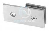 Kẹp kính NewEra cố định 180 độ tường-kính