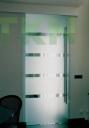Ray cửa trượt lùa Henderson Husky Glass 1 cánh kính 1250mm, 50kg